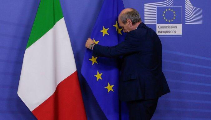 Itālija vēlas ES īpašā statusa piešķiršanu trūcīgajiem dienvidiem