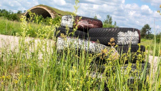 ФОТО. Заброшенный аэродром в Вайнёде – первые дирижабли в Латвии, охрана границ СССР и сараи для сена