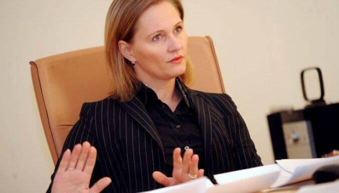 Байба Брока отказалась от участия в выборах Сейма