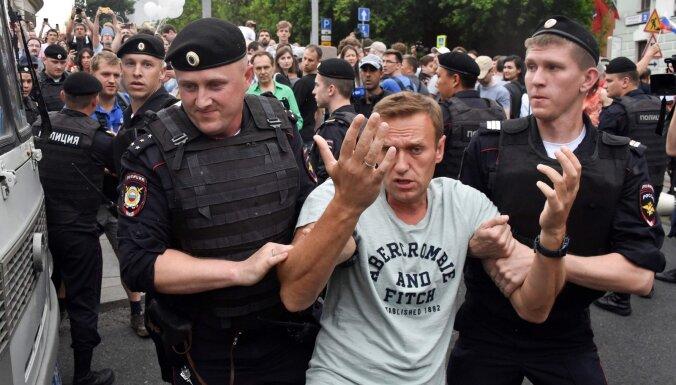 В Москве прошел марш в поддержку Голунова. Задержаны сотни человек, включая Навального