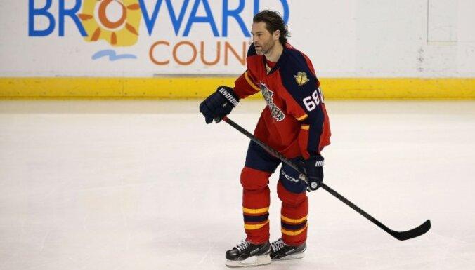 Arī Jāgrs lūdz fanus viņu neiebalsot NHL Zvaigžņu spēlē
