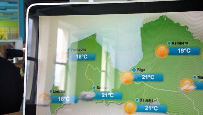 Delfi предлагает самый точный прогноз погоды в Латвии