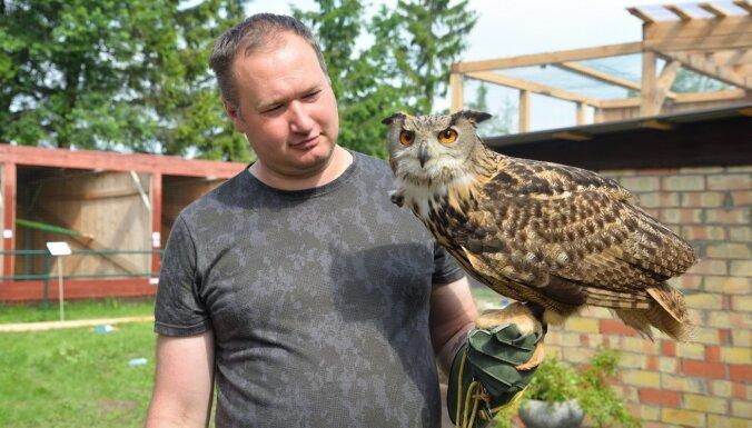 Daugavpils novadā tapis jauns tūrisma objekts – plēsīgo putnu parks