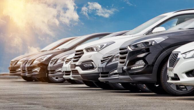 Pirmreizējā reģistrācija Latvijā šogad veikta par 23,9% mazāk vieglo auto
