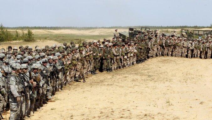 На военные учения Namejs-2018 приглашают записываться земессаргов