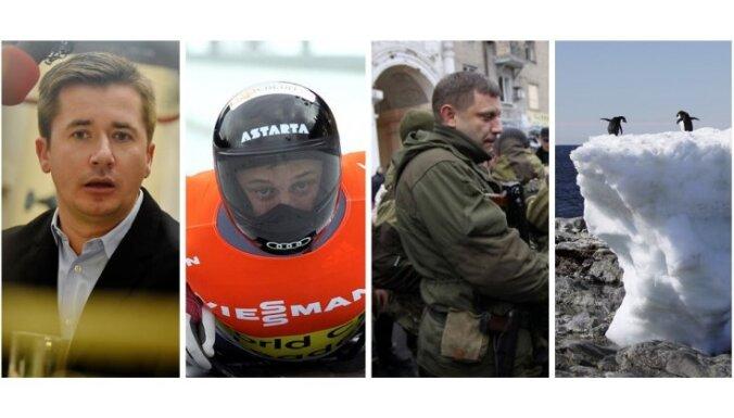 Latvijas 'Expo' skandāls, Martins Dukurs neuzvarams, Doņeckas teroristi un sapnis par pingvīniem