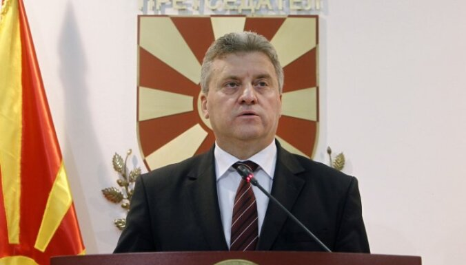 Maķedonijas prezidents aicina boikotēt referendumu par valsts nosaukuma maiņu