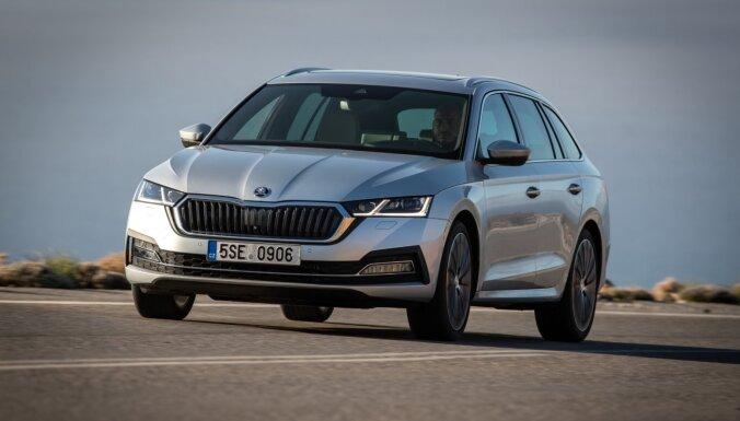 Автомобилем года в Латвии стала Škoda Octavia