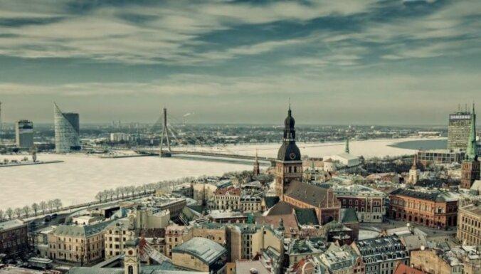 Мир, в котором мы живем: Зимняя Рига в эффектном timelapse-видео