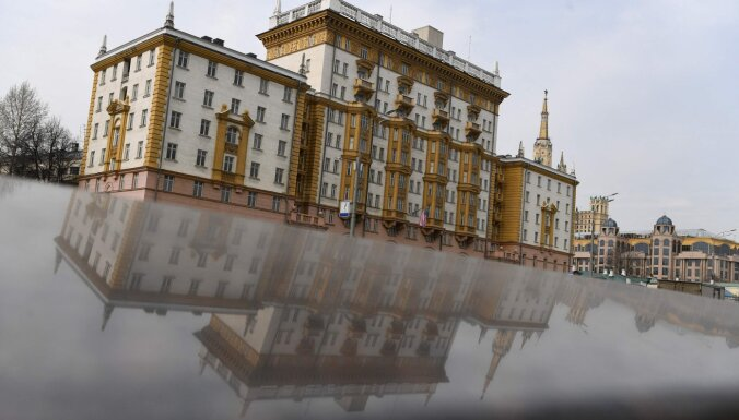 ASV vēstniecība Maskavā samazinās sniegto konsulāro pakalpojumu skaitu