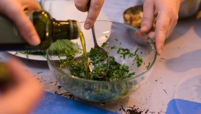 Garšaugu mērce Salsa verde