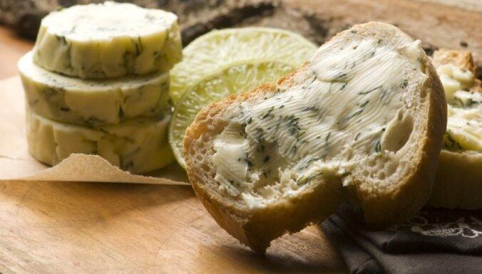 Seši neparasti veidi, kā aromatizēt sviestu