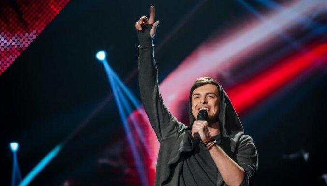 Video: Edgars Kreilis gūst panākumus lietuviešu šovā 'Balss'