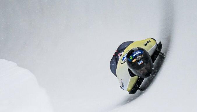 Martins Dukurs sniegotajā Sanktmoricā dramatiskā cīņā paliek otrais