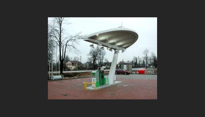 """""""Statoil"""" automātiskā degvielas uzpildes stacija"""