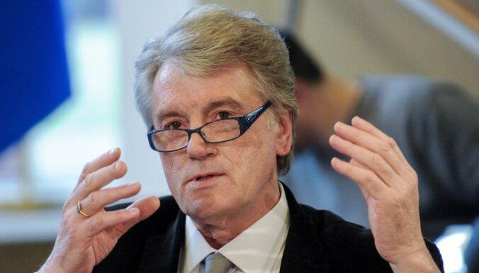 """Экс-президент Украины Ющенко: в Европе формируется новый """"железный занавес"""""""
