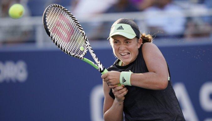 Остапенко выиграла лишь три гейма во втором матче на турнире в Пекине