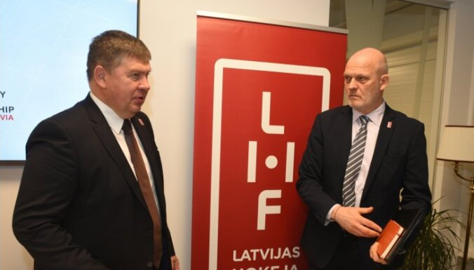 LHF gatavos ministrijai vēstuli ar detalizētiem hokeja čempionāta organizēšanas izdevumu aprēķiniem