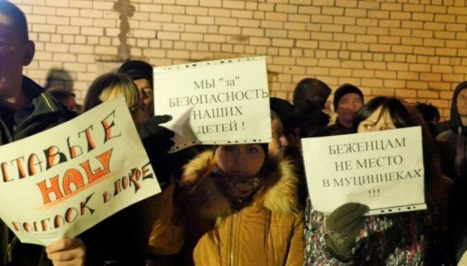Жители Муцениеки— Козловскису: не мы эту войну начали, не нам принимать беженцев