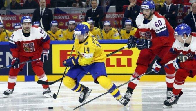 Pasaules hokeja čempionāts: 6. maija spēļu apskats. Teksta tiešraides arhīvs