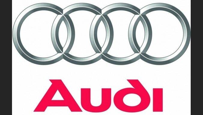 'Audi' modernizējis savu logotipu