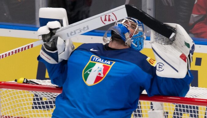 Itālijas hokeja izlasē pirms došanās uz Rīgu konstatēti vairāki Covid-19 gadījumi