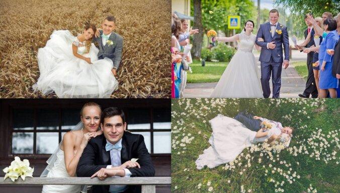 Cukursaldā mīla: astoņu pāru ieteikumi kāzām un dzīvei pēc precībām