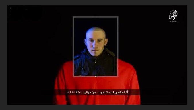 'Daesh' publisko video, kurā, iespējams, redzama krievu gūstekņa nogalināšana