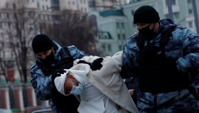 """В Москве задержаны десятки участников """"Русского марша"""""""
