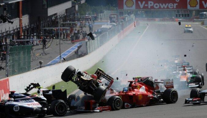 Впервые с 1994 года дисквалифицирован пилот Формулы-1