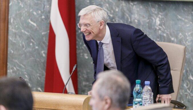 У Кришьяниса Кариньша и нескольких министров не обнаружен Covid-19