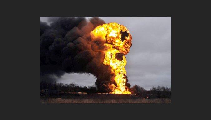 Пожар в Вентспилсе