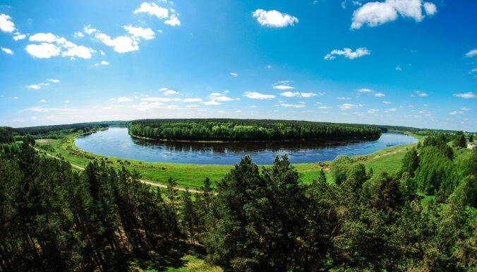 Latgalē iespējams piedalīties apceļošanas akcijā 'Daugava vieno'
