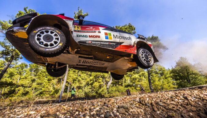 WRC Turcijas posmā uzvar Evanss