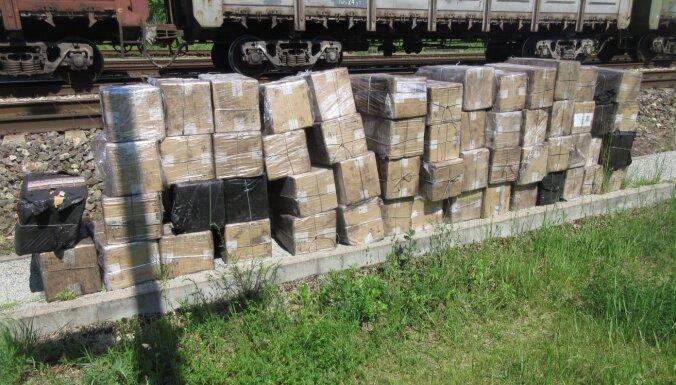 Таможня нашла 580 000 белорусских сигарет в вагонах с углем