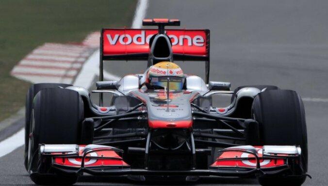 Hamiltons izcīna uzvaru Ungārijas 'Grand Prix' kvalifikācijas sacensībās