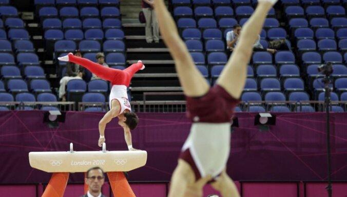 Выше 22-го места латвийские гимнасты на ЧМ не поднялись