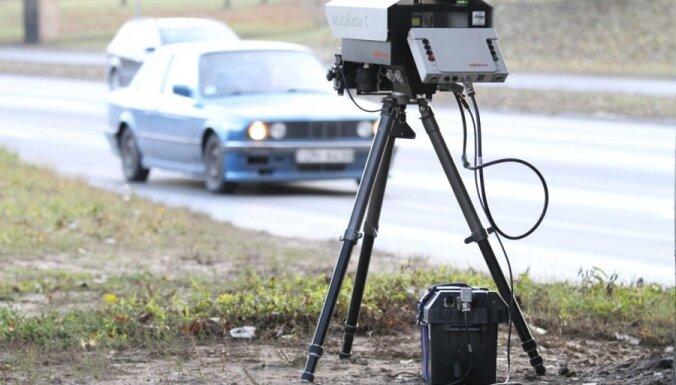 ДБДД закупает стационарные фоторадары, а полиция— передвижные