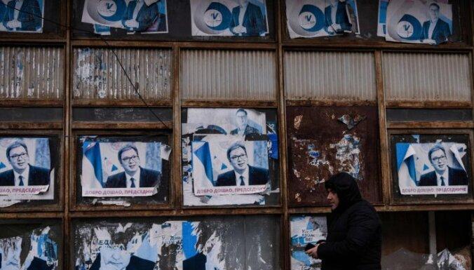 Belgrada apsūdz Kosovu centienos padzīt serbus