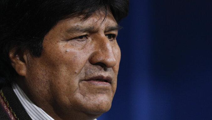 Bolīvijas prezidents pēc nedēļām ilgiem protestiem izsludina jaunas vēlēšanas