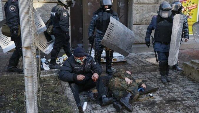 После кровавых столкновений в Киеве начат разгон Майдана