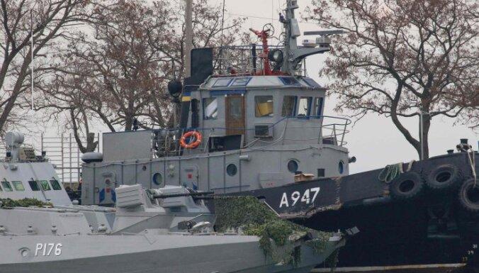 ЕС поддержал Украину и потребовал от РФ освобождения захваченных кораблей
