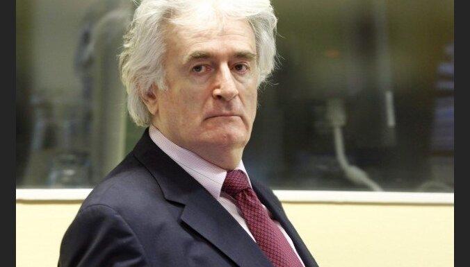 Par genocīdu notiesātais Karadzičs mūža ieslodzījumu izcietīs Lielbritānijā