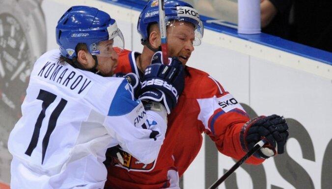 Komarovs steigs palīgā Somijas hokeja izlasei
