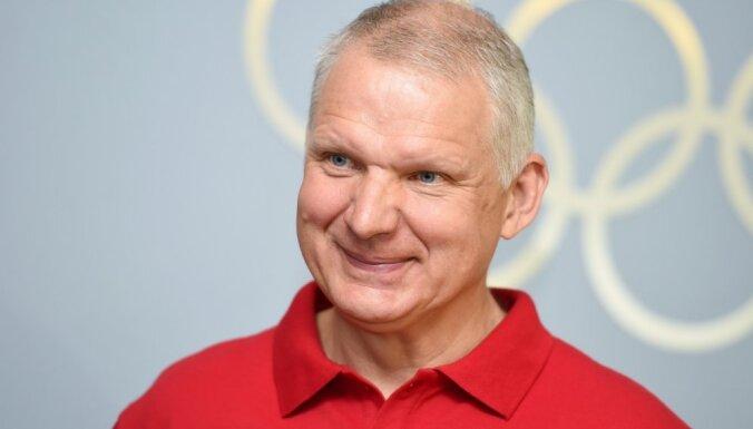 Latvijas olimpisko komandu arī Phjončhanas olimpiskajās spēlēs vadīs Tikmers