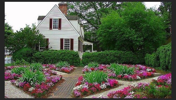 Četri dārzi atbilstoši temperamenta tipiem
