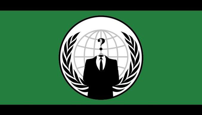 Policija Latīņamerikā un Spānijā arestējusi 25 'Anonymous' grupas hakerus