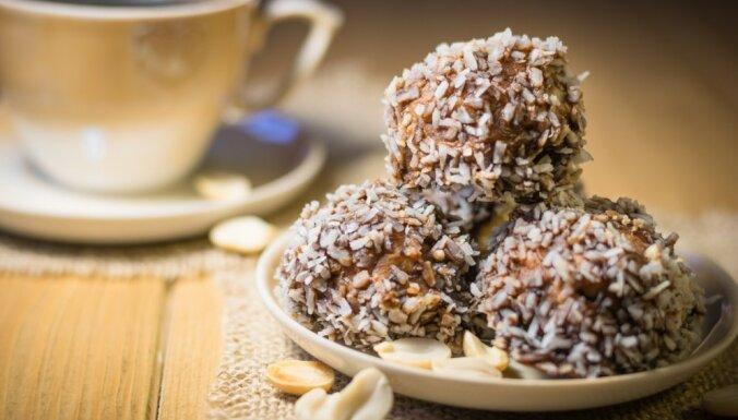 Kakao un zemesriekstu trifeles