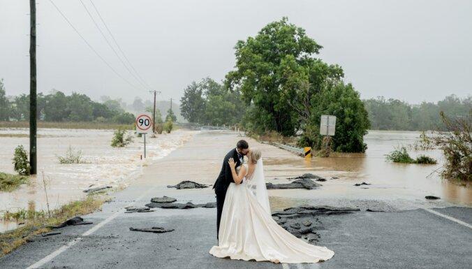 Foto: Austrālijā pērn ugunsgrēkos cietušajos reģionos plosās plūdi