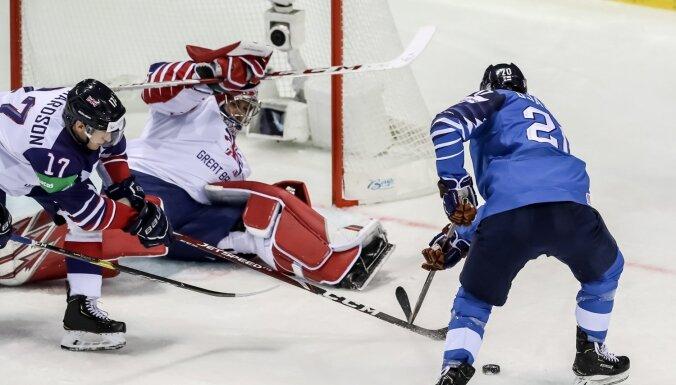 Somija otrajā periodā nokārto uzvaru pār Lielbritāniju
